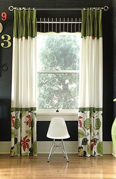 Beautiful Colorful Curtain Ideas To Create The Amazing Landscape In Your Home … – Curtains 2020 Home Curtains, Curtains With Blinds, Window Curtains, Valances, Green Curtains, Curtains Living, Curtain Styles, Curtain Designs, Curtain Ideas
