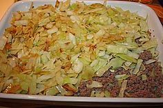 Schichtkohl Food Gallery, Fried Rice, Bon Appetit, Cabbage, Grains, Food And Drink, Meat, Baking, Vegetables