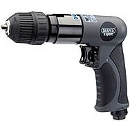 Draper 14258 Expert Composite Body Soft Grip Reversible Air Drill With 10mm Keyless Chuck