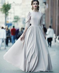Modest Dresses, Modest Outfits, Modest Fashion, Hijab Fashion, Pretty Dresses, Beautiful Dresses, Fashion Dresses, Prom Dresses, Hijab Stile