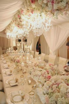 Taking your Wedding to the Next Level with Chandeliers - Belle The Magazine