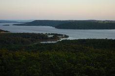 Lake Eufaula, Oklahoma -- where I live.