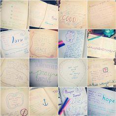 Creative Journaling, Prayer Journals. Gratitude Journals