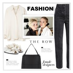 Female Designers: The Row by ladydzsen on Polyvore featuring polyvore fashion style The Row Menu Graham & Brown Olsen clothing
