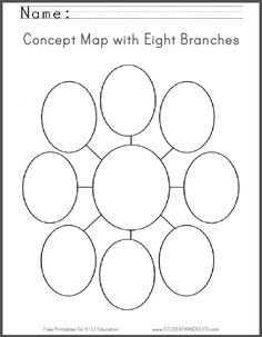 ... Organizers on Pinterest | Graphic organizers, Worksheets and Maps