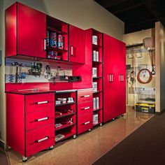 The ULTIMATE garage system, perfect for keeping your tools organized