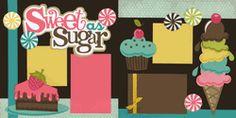 Sweet As Sugar-Girl Page Kit