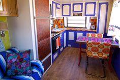 Se lige det her fede opslag på Airbnb: Colorful Baja camper/mountain view i Bridgeport