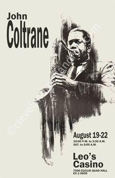John Coltrane 1965 Cleveland Concert by ClevelandRockAndRoll