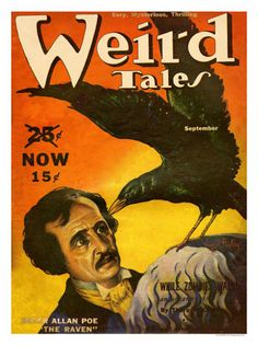 Edgar and the raven