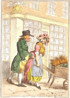 Sandwich Carrots by Gillray 1796