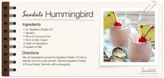 Sandals Hummingbird