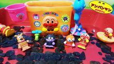 アンパンマン おふろおもちゃ よくばりバケツ❤おかあさんといっしょ♦ Anpanman Bath Toy