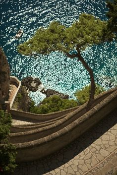 Via Krupp, Capri, Italt