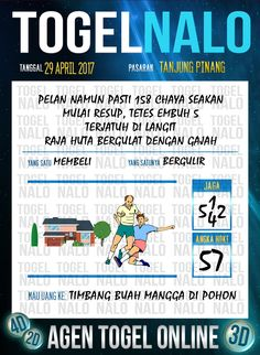 Angka Kode 6D Togel Wap Online TogelNalo Tanjung Pinang 29 April 2017