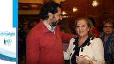 Dr. Hidalgo con Encarnita Sarria, Presidenta de la Federación Alba de Andalucía y de la asociación de Córdoba.