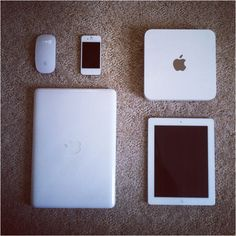 my love for white apple products
