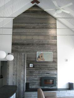 Barnboard wall