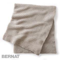 Ridges Blanket Yarnspirations Bernat Maker Home Dec