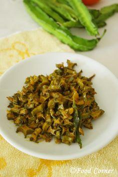 Food Corner – Sri Lankan winged bean stir fry (Dambala Thel Dala )