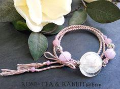 Pastel Beige Spiral Woven Triple Wrap Bracelet by RoseTeaAndRabbit https://www.etsy.com/uk/listing/221388006/pastel-beige-spiral-woven-triple-wrap