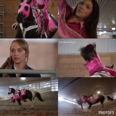 Georgie (Alisha Newton) trick riding on heartland. After I finish my Eventing, I am going to learn how to trick ride!!!!!!