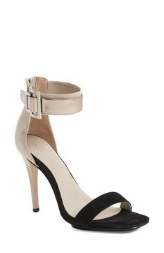 0ef3d47be97 Calvin Klein  Sable  Leather  amp  Suede Ankle Strap Sandal (Women)  available