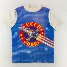 """DDR Museum - Museum: Objektdatenbank - """"Kosmos T-Shirt"""" Copyright: DDR Museum, Berlin. Eine kommerzielle Nutzung des Bildes ist nicht erlaubt, but feel free to repin it!"""