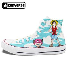 ... Sneakers High Top Canvas Shoes Anime Birthday Gifts  Affiliate. One  Piece Converse All Star Women Men Shoes Anime Luffy Chopper Design Hand  Painted ... 01cb5ebb35d1