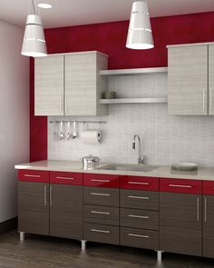 Cabinet Design Ideas: Contemporary Transitional Contemporary Kitchen Cabinets, Custom Kitchen Cabinets, Kitchen Cabinet Doors, Contemporary Kitchens, Cabinet Design, Door Design, Modern Contemporary, Modern Design, Laminate Colours