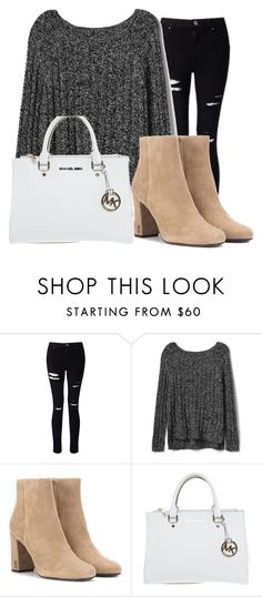 """dayout"" by fashionblogger2122 on Polyvore featuring Miss Selfridge, Gap, Yves Saint Laurent and Michael Kors"