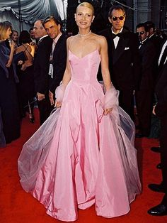 """i heard somewhere that when she walked down the red carpet at the oscar's in the dress people were saying """"she is doing the audrey""""."""