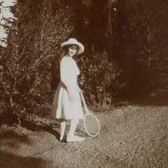 "Grand Duchess Anastasia Nikolaevna Romanova of Russia in the Crimea, October 1913. ""AL"""