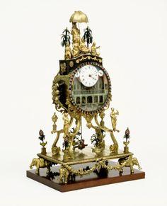 Automaton Clock England, 1780 The Victoria & Albert Museum
