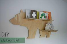 DIY Ply Bear Shelf – STYLE CURATOR