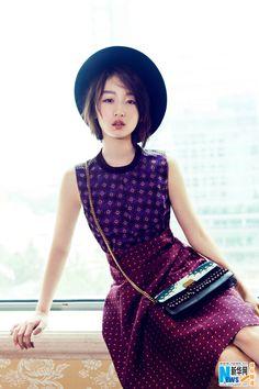 Actress Zhou Dongyu   http://www.chinaentertainmentnews.com/2016/11/zhou-dongyu-poses-for-photo-shoot.html