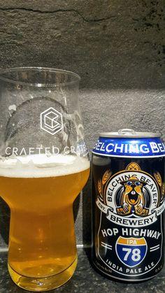 Belching Beaver Hop Highway IPA. Watch the video beer review here www.youtube.com/realaleguide #CraftBeer #RealAle #Ale #Beer #BeerPorn #BelchingBeaverBrewing #BelchingBeaverHopHighwayIPA #BelchingBeaverHopHighway #HopHighwayIPA #HopHighway #AmericanCraftBeer #AmericanBeer