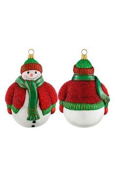 Joy to the World Collectibles 'Glitterazzi' Snowman Ornament
