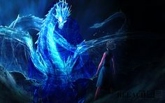 Pin by WallpapersCharlie on me in 2020 Blue dragon Cool dragons Crystal dragon