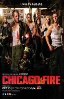 Another GREAT show by the creator of Law and Order...but BETTER! cause they are Firemen and HOT! lol Chicago Fire Poster