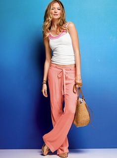 I have really been wanting some linen pants!