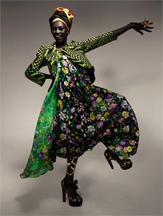 Duro Olowu (Hey... if EYE were a witch, this entire outfit, from head to toe…