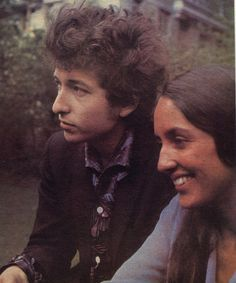 Joan Baez, Bob Dylan  --not sure whether to put them under music or heroes --but heroes won!  They were sure heroes to me in my teens.
