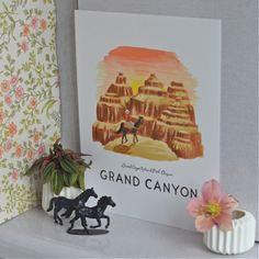 affiche Grand Canyon Rifle paperco - deco-graphic.com