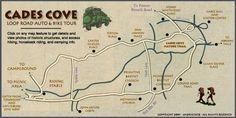 Cades Cove Loop Road Tour, Gatlinburg, Tennessee