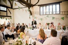 Speeches & bunting   (Photo- Hyde End Studios)
