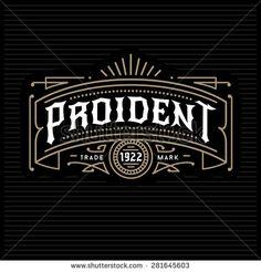 art deco vintage golden classic linear monochrome luxury hipster minimal geometric vector frame , border , label  for your logo, badge or crest