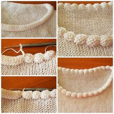 Pretty trick for stockinette edging that rolls. #knitting