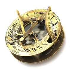 Antique Sundial Compass via ANTIQUEDECORS on Etsy