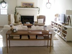 The Pear Tree Cottage: Fireplace Makeover With Details and Before and After Pictures